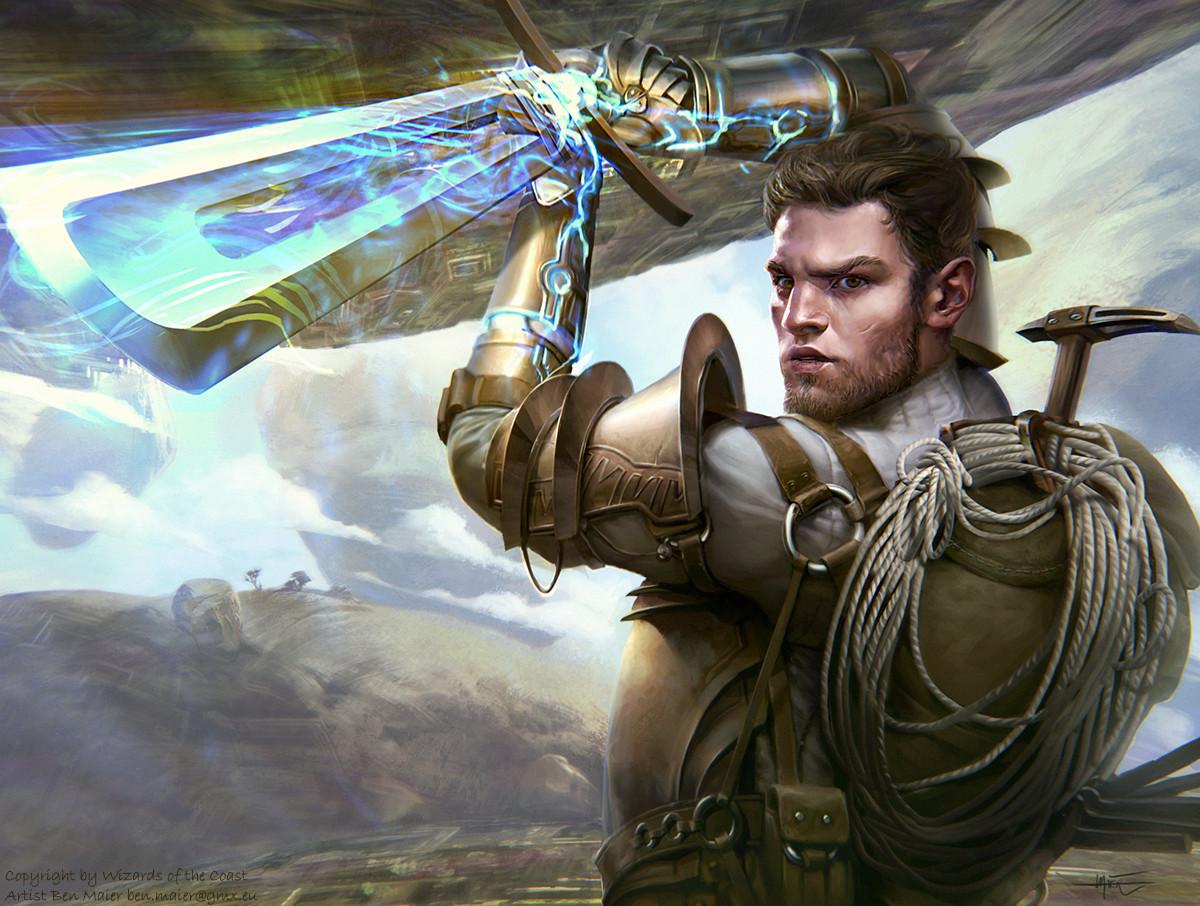 Magic the Gathering, Oath of the Gatewatch,  Ondu War Cleric , Copyright by Wizards of the Coast 2016