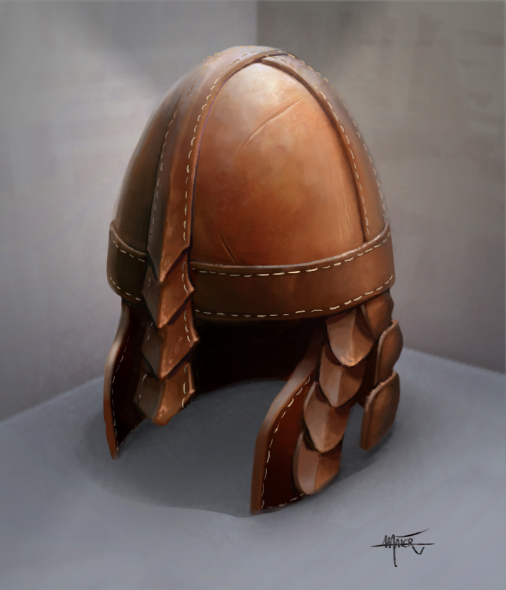 Leatherhelmet  Copyright by Ulisses Spiele