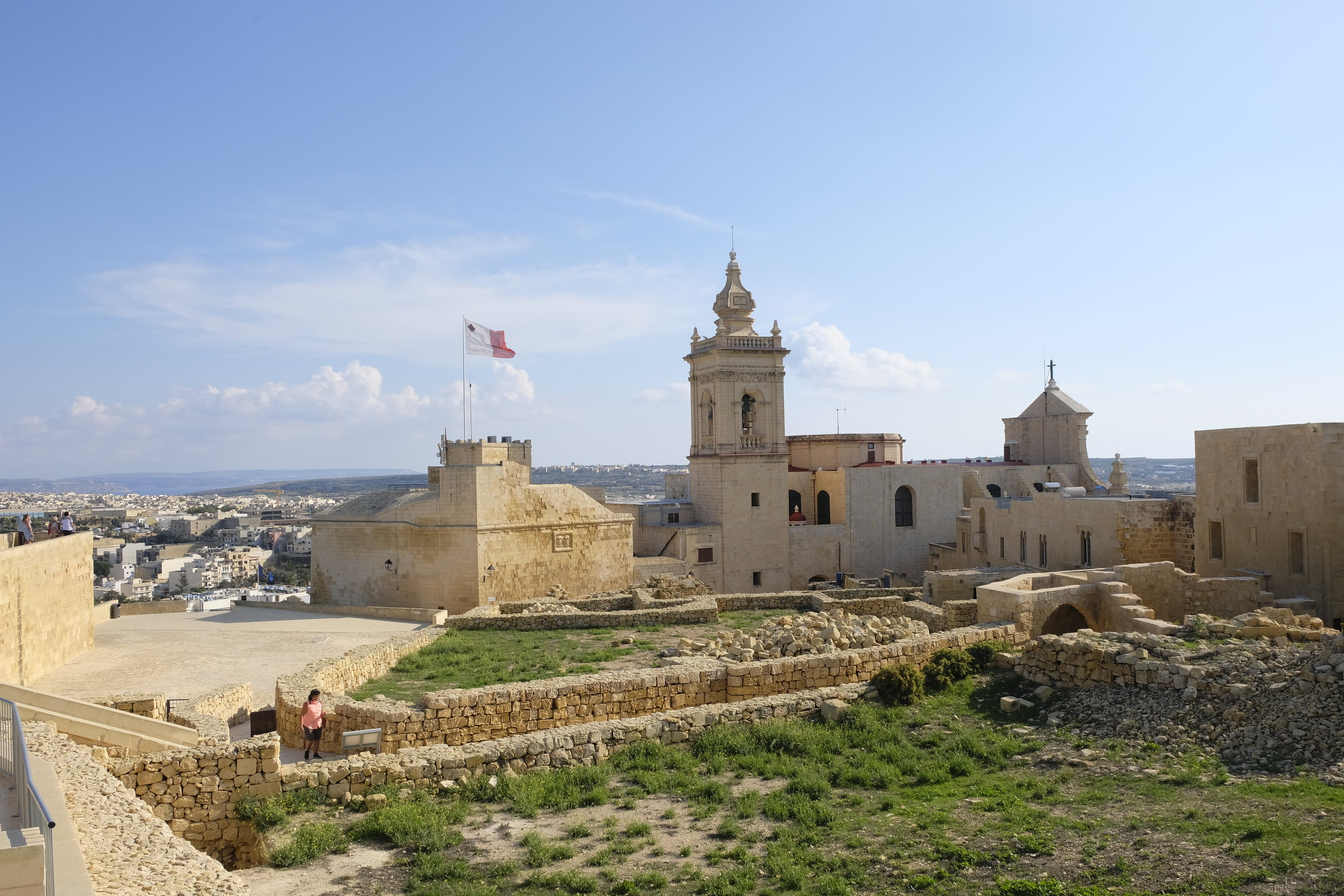 Gozo's Citadella is a big draw for visitors  © Paul Wheatley
