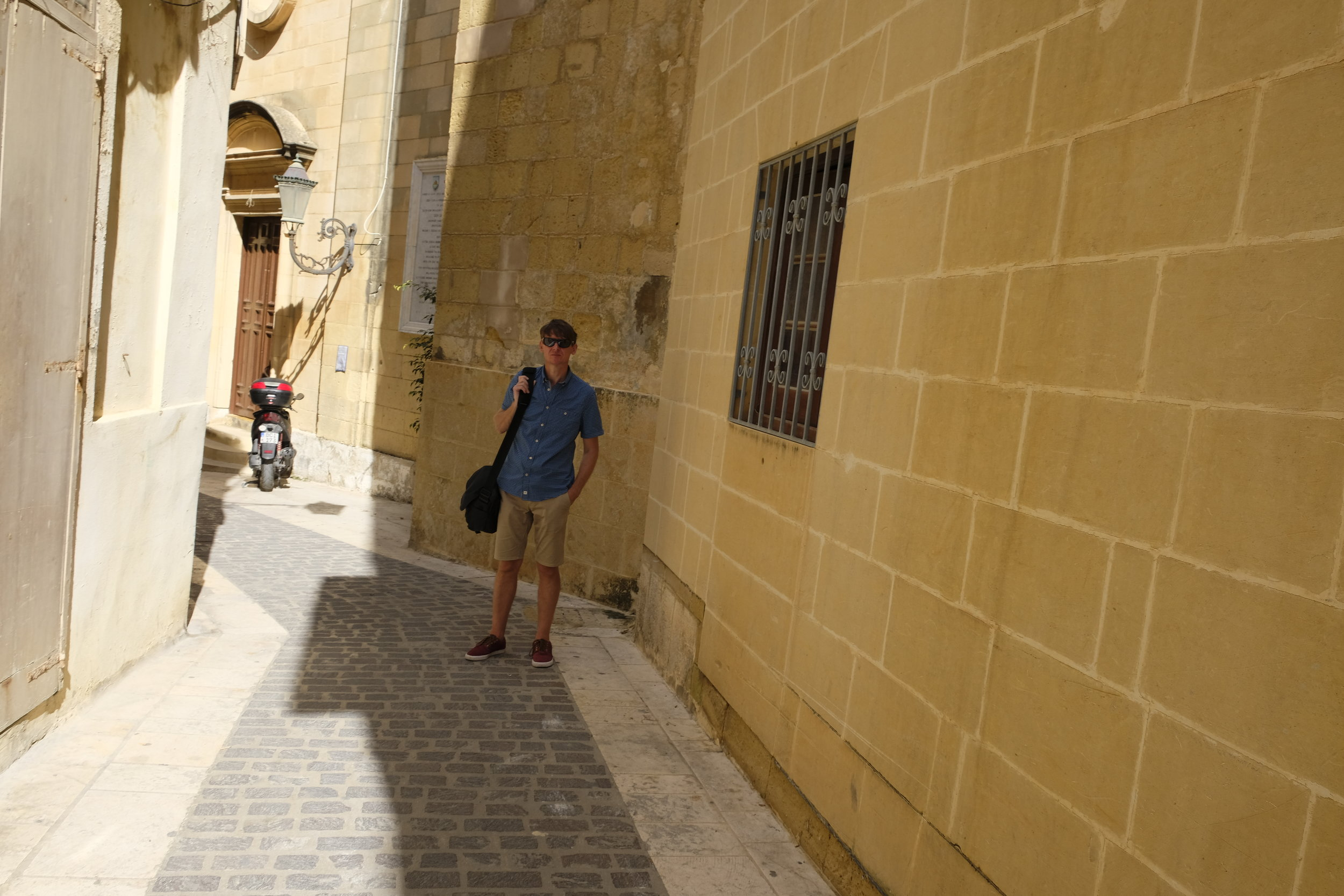 Clean streets and sandstone bricks epitomise Gozo