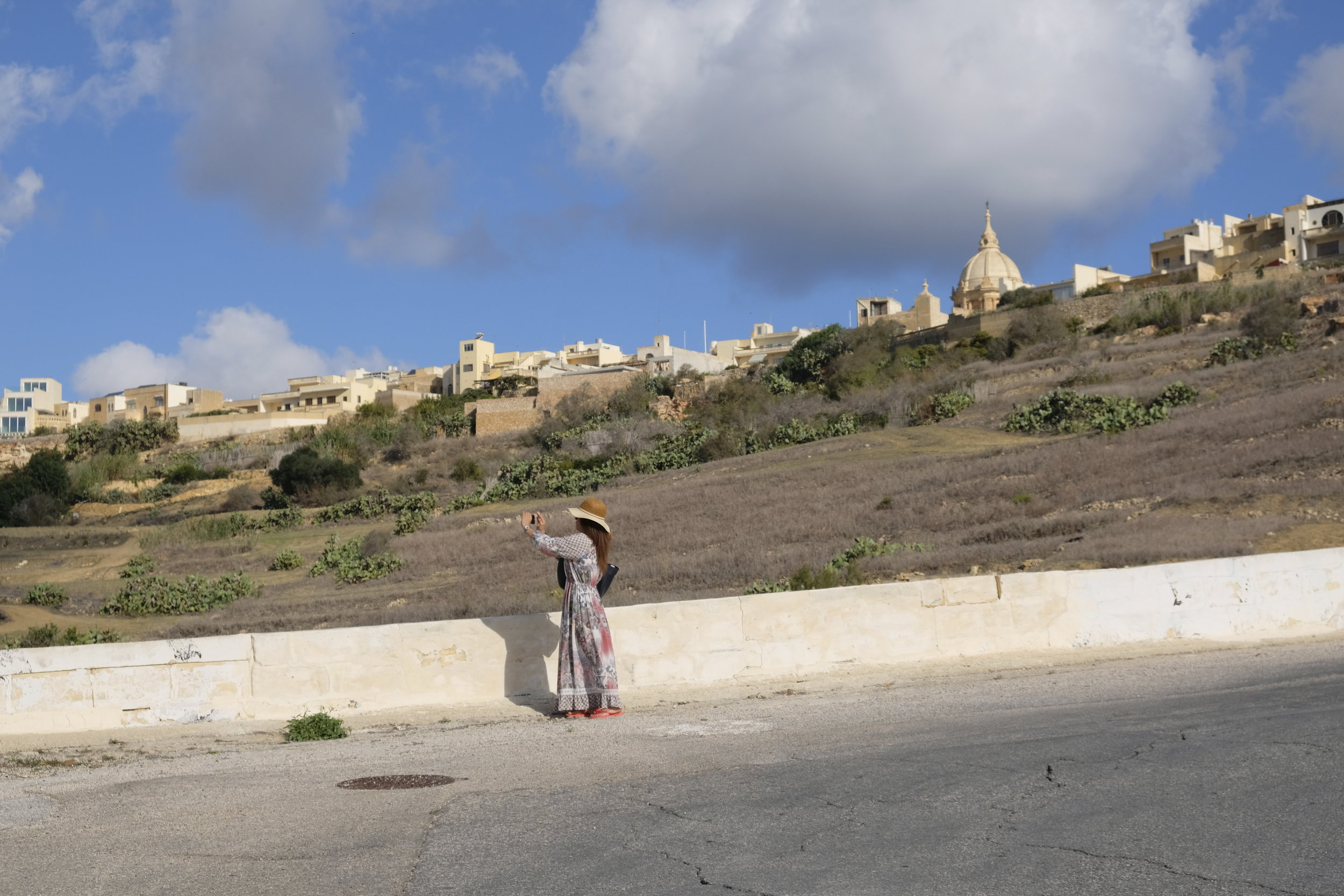 In a valley along the winding Triq Imgarr, on the way to Gozo's ferry terminal