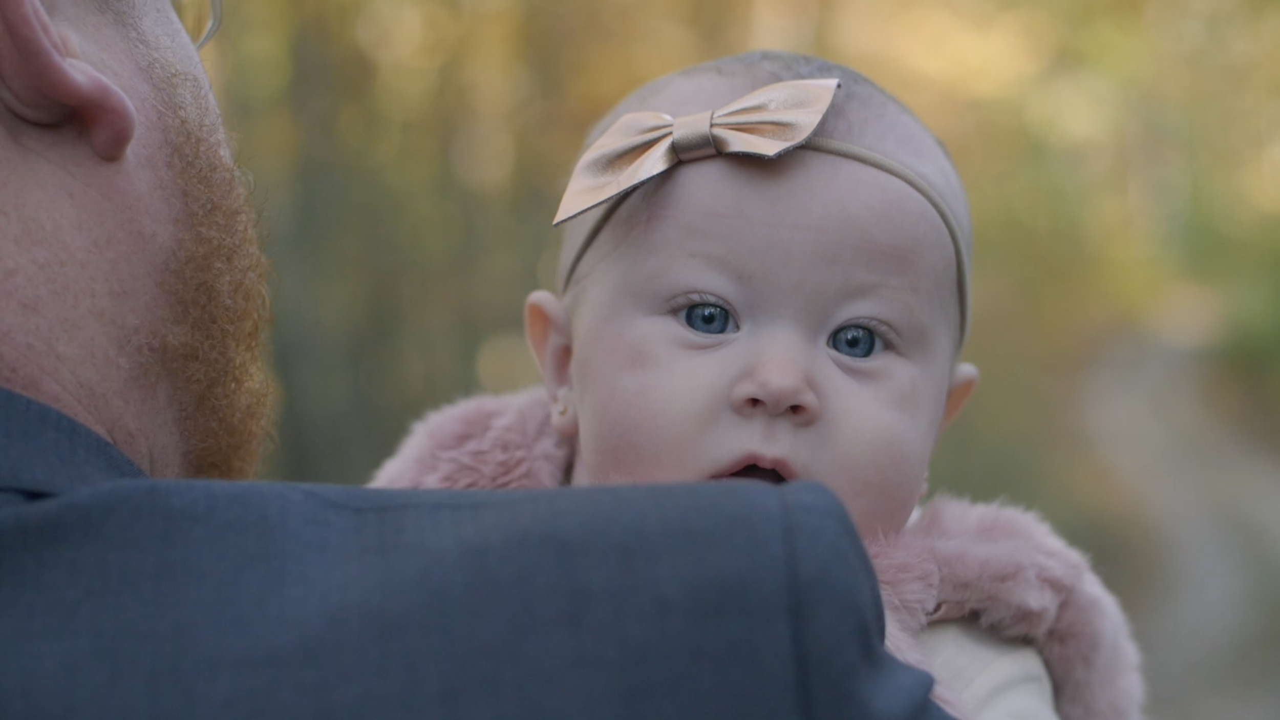 daughter wedding day baby cinematic