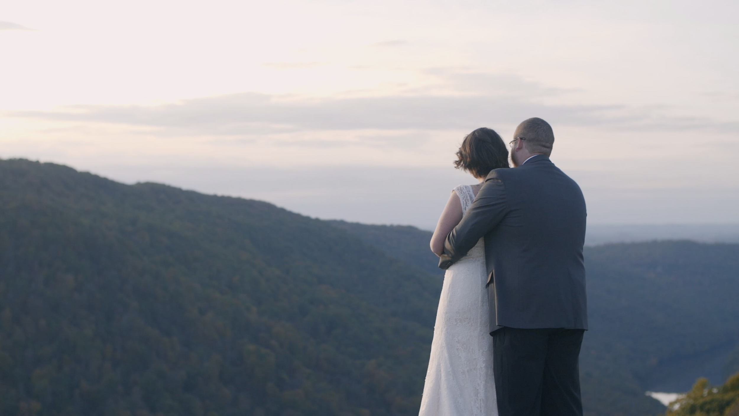 Elopement morgantown intimate bride groom