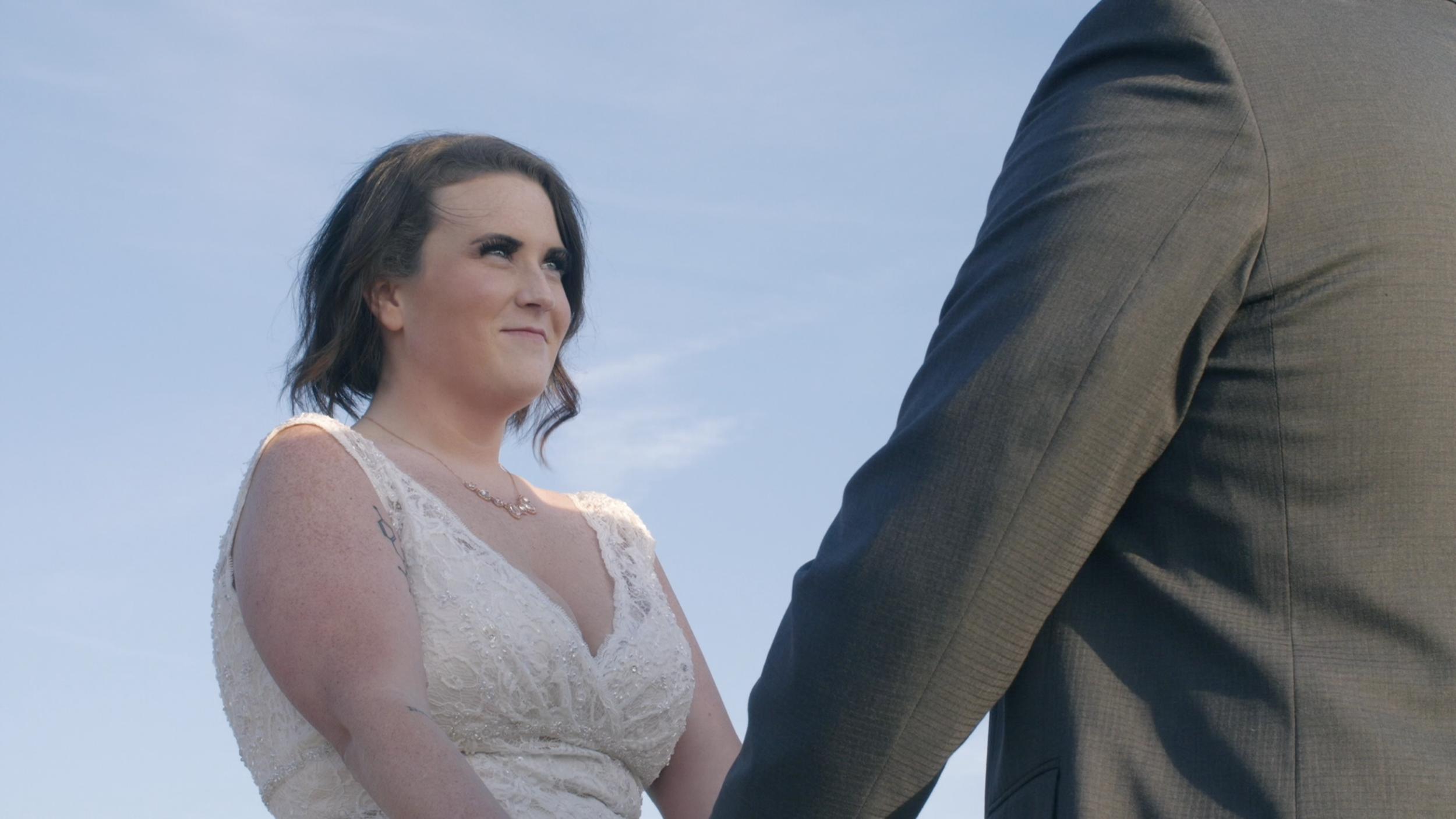 Bride elopement destination wedding
