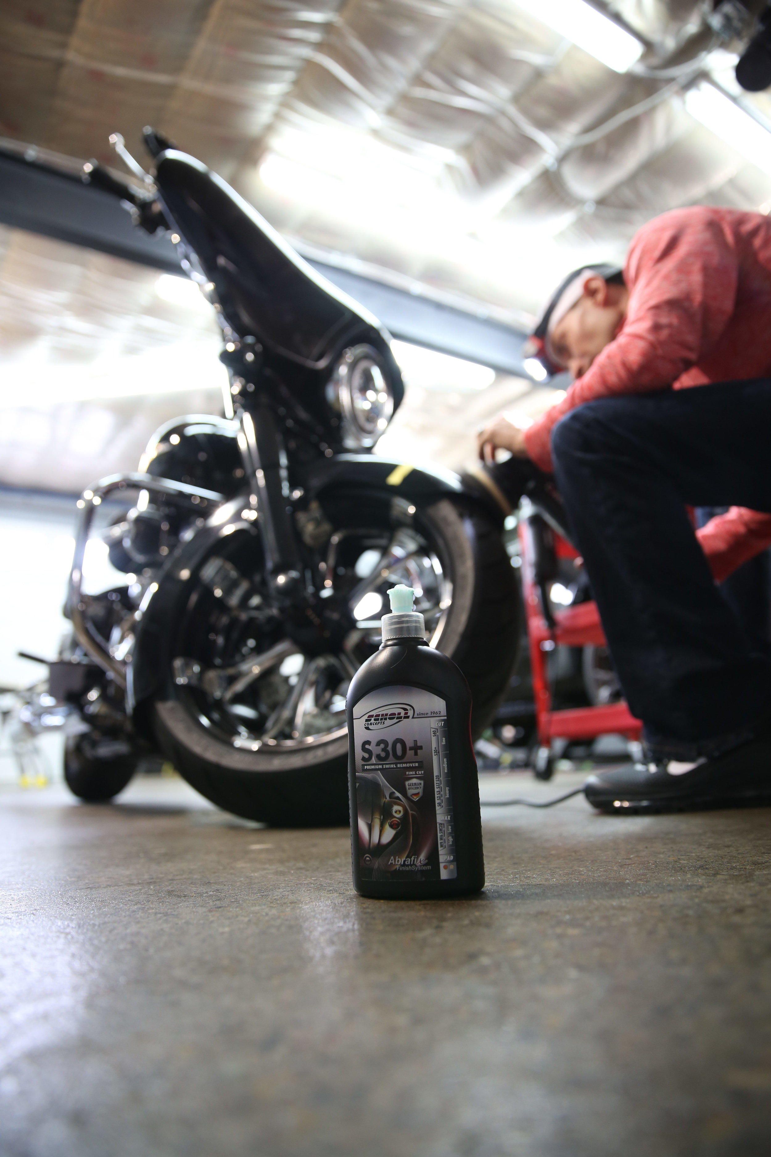 motorcycle detailing shine