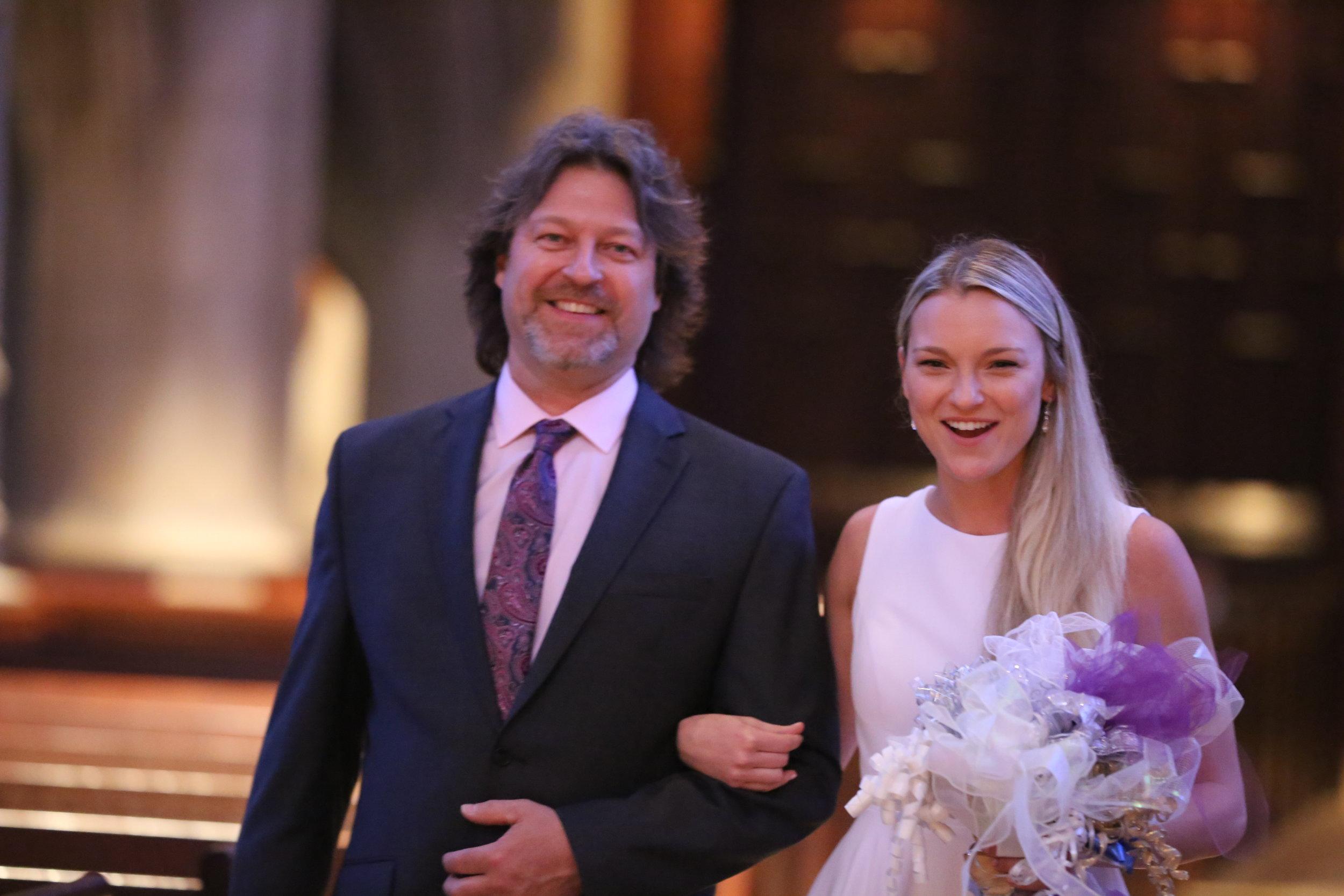 Intimate wedding ceremony Pennsylvania