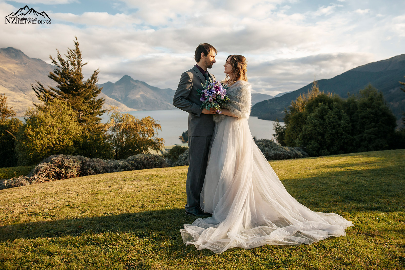 Richardson Mountains Elopement   Photography by  NZ Heli Weddings
