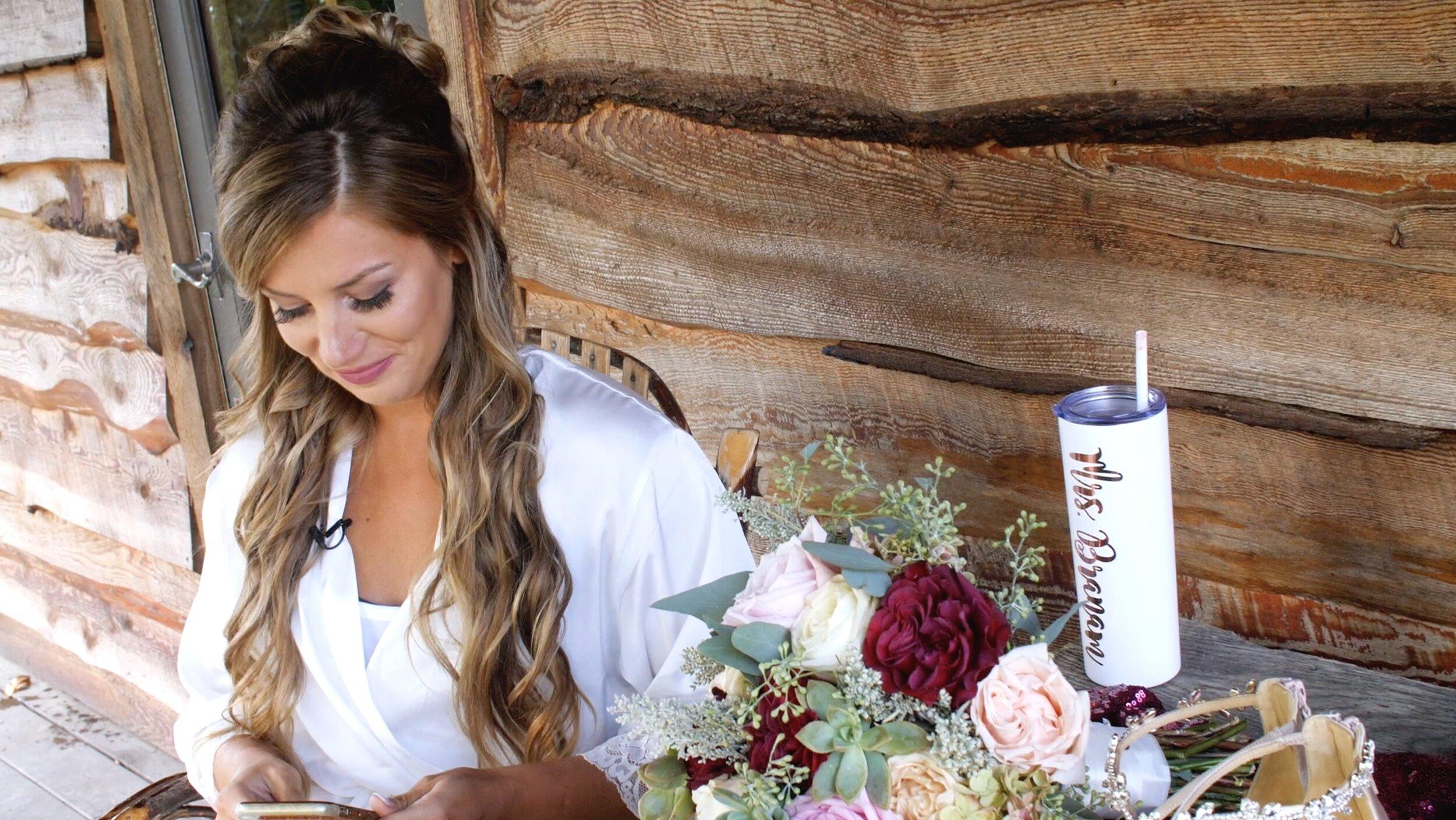 Love letter ideas for bride