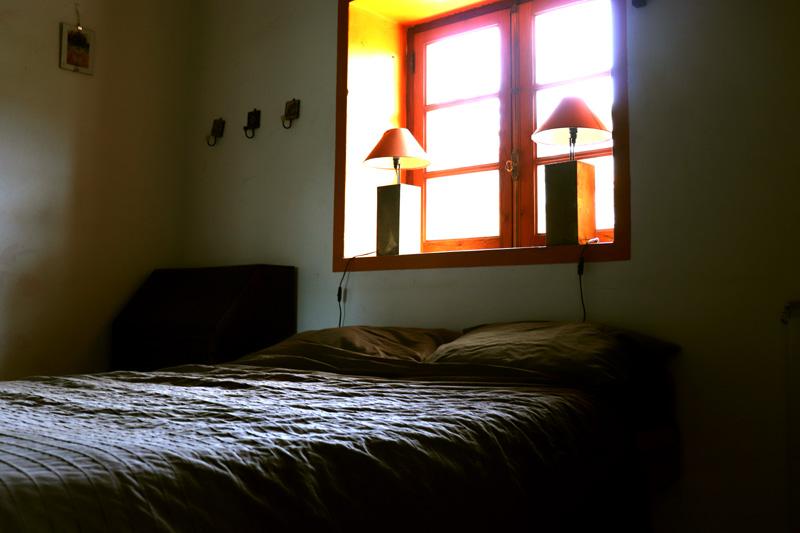 double bed room, Quinta da Flores. Yoga Retreat