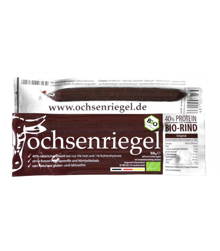 Ochsenriegel: The bio-protein bar of grass-feed cattle