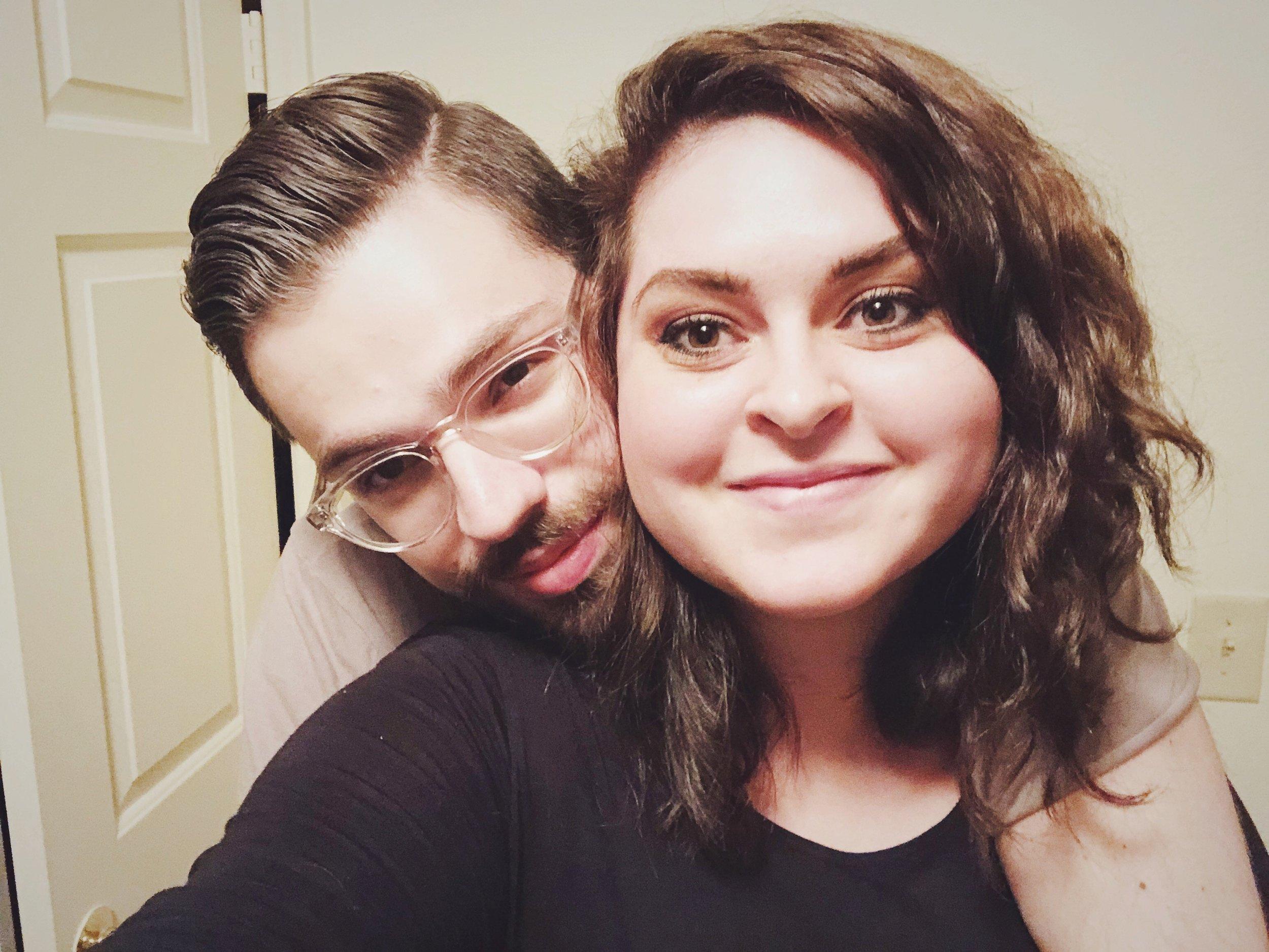 - Bre and her husband, Sam