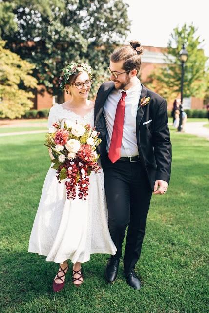 Hannah McDill and her husband, Daniel