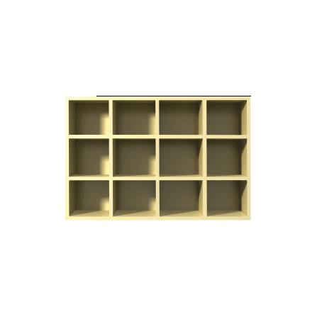Cubby Shelf - Phenolic & Plastic