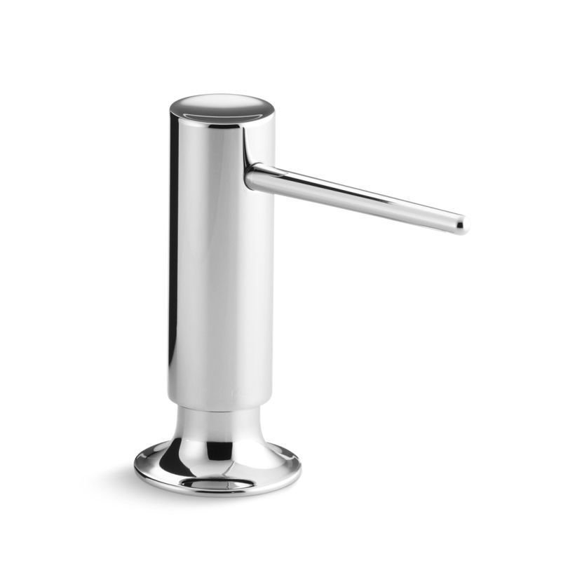 Polished nickel soap dispenser h20 hd not steaming