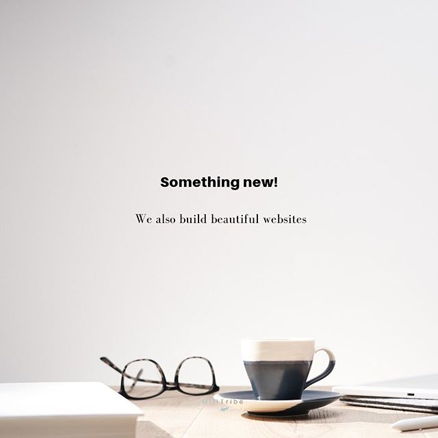 Something new and exciting. We can finally help you with creating beautiful websites for your business! ⠀⠀ Get in touch with us and let's build your business' brand together. ⠀⠀ ___________________________________ #milltribe #websitedevelopment #branding #smmes #startuptools #services #business