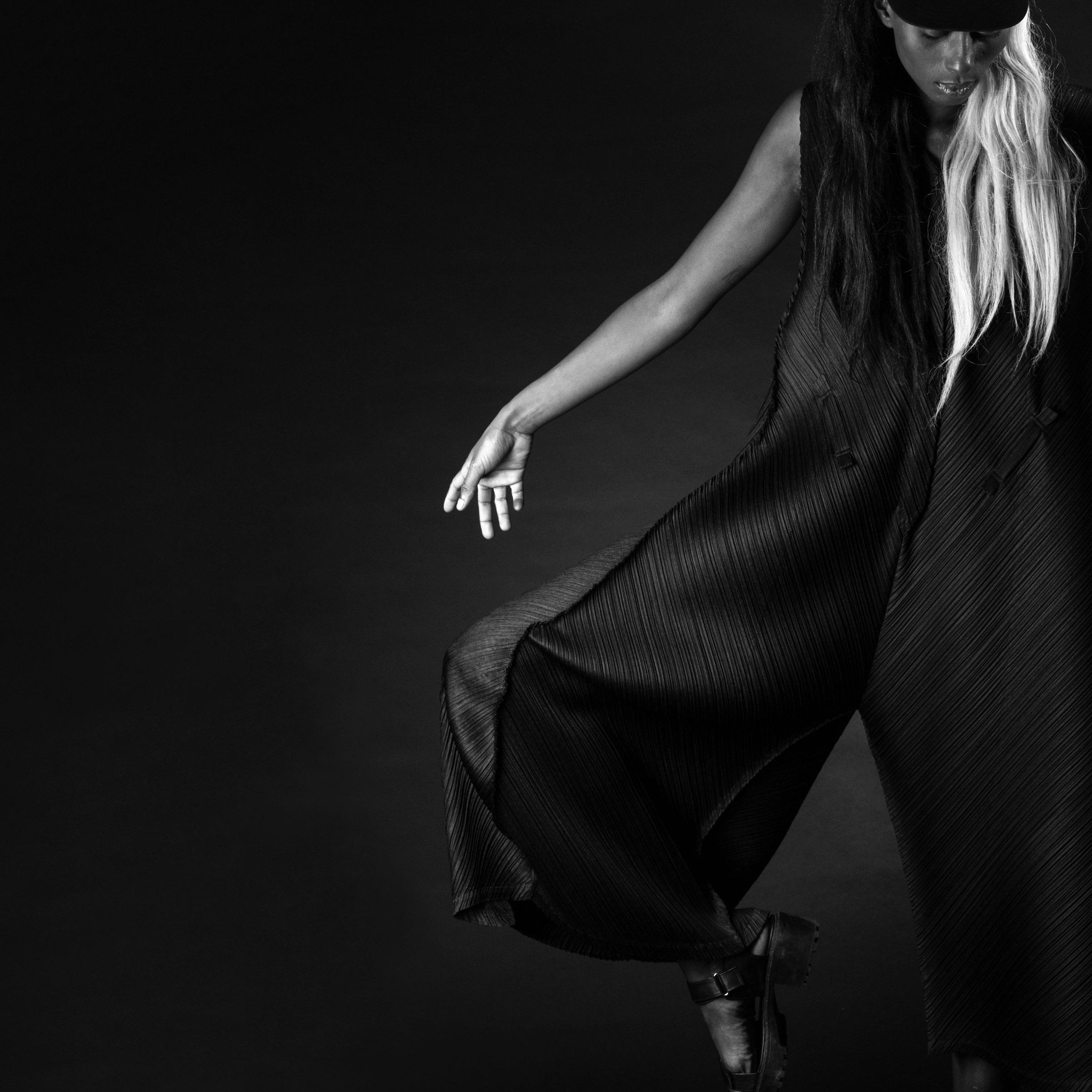 Model: Ness ● Designer: Issey Miyake ● Art director: Eric Nehr