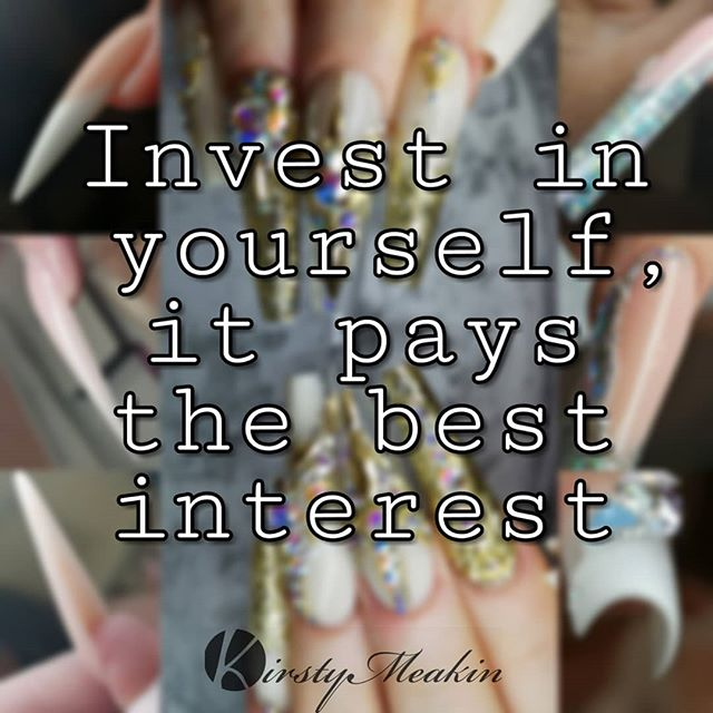Education is key 🗝️😜 Invest in yourself, it pays the best interest.  Who's with me🙋🏼♀️ #nailart #nailartist #nailporn #nails4today #nailtraining #kirstymeakin #nails #educationiskey #getnoticed