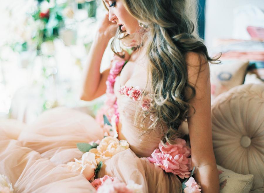 Glitzy Secrets - Floral Wedding Dresses