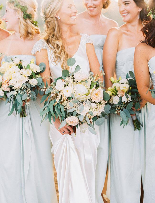 Glitzy Secrets - Seafoam Green Wedding Ideas