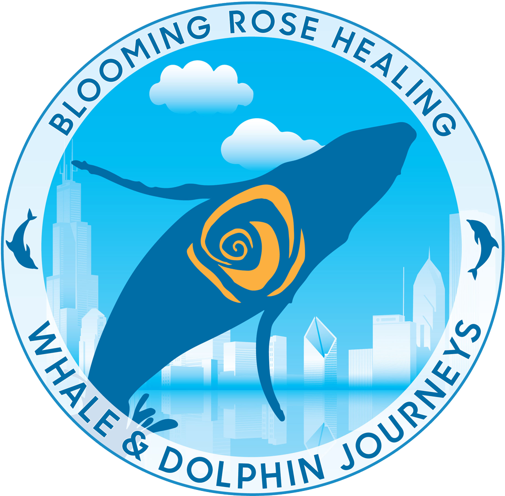 Whale Trips Logo with Mary Rondenet