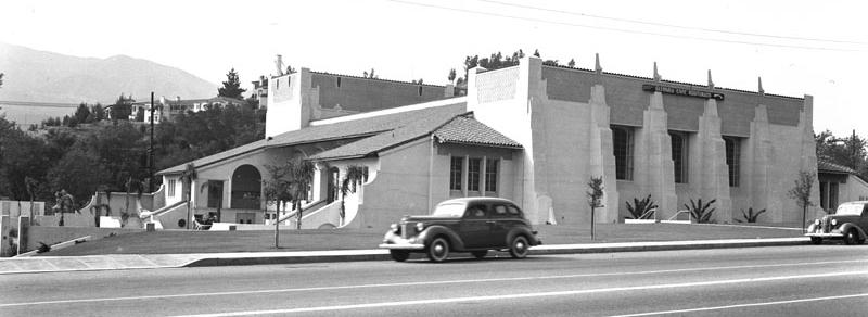 The Glendale Civic Auditorium -