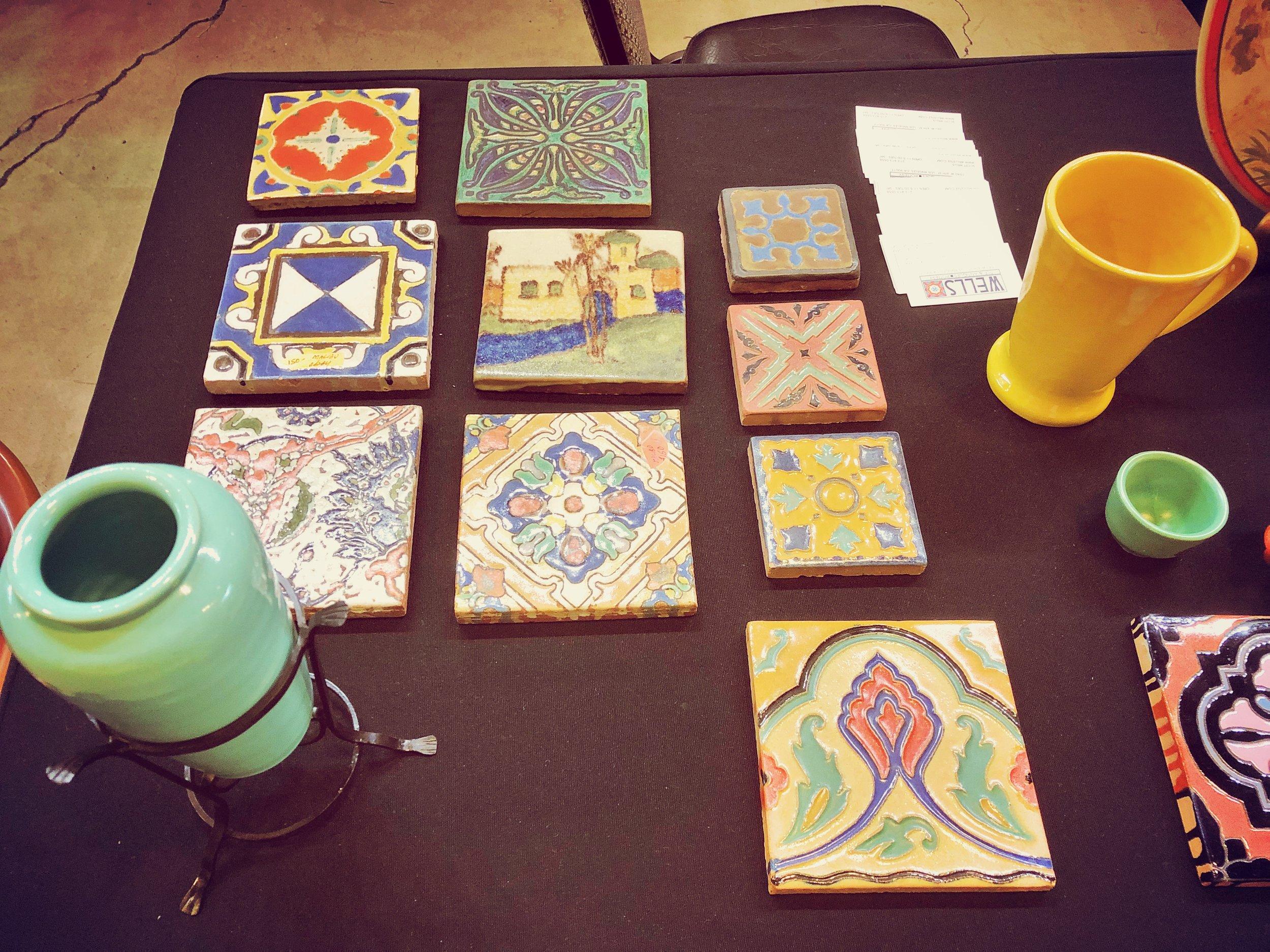 1920s Tiles & Pottery, California