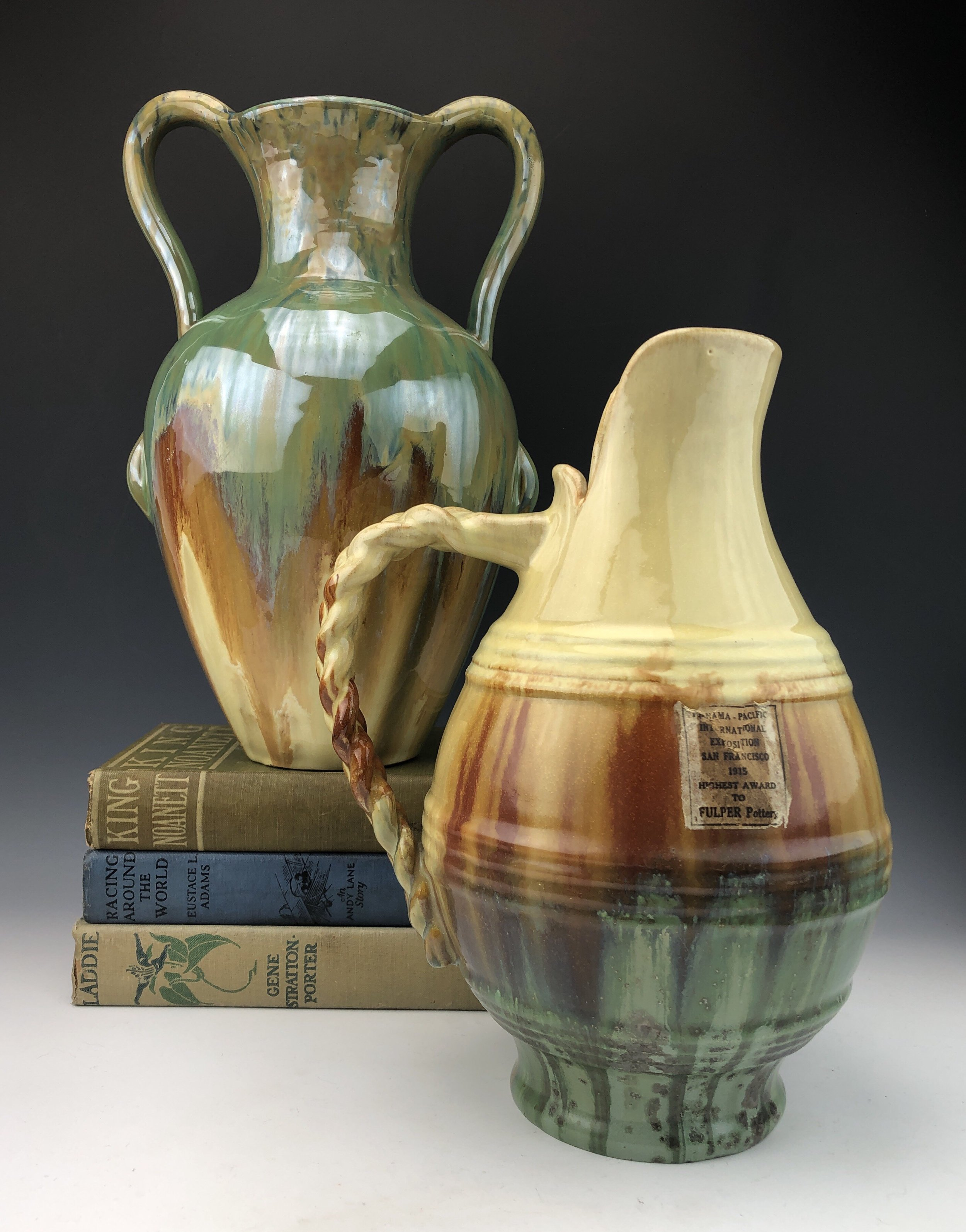 Frank Ross - Once Again - Frank Ross specializes in fine ceramics from the late 19th century to the mid 20th century.
