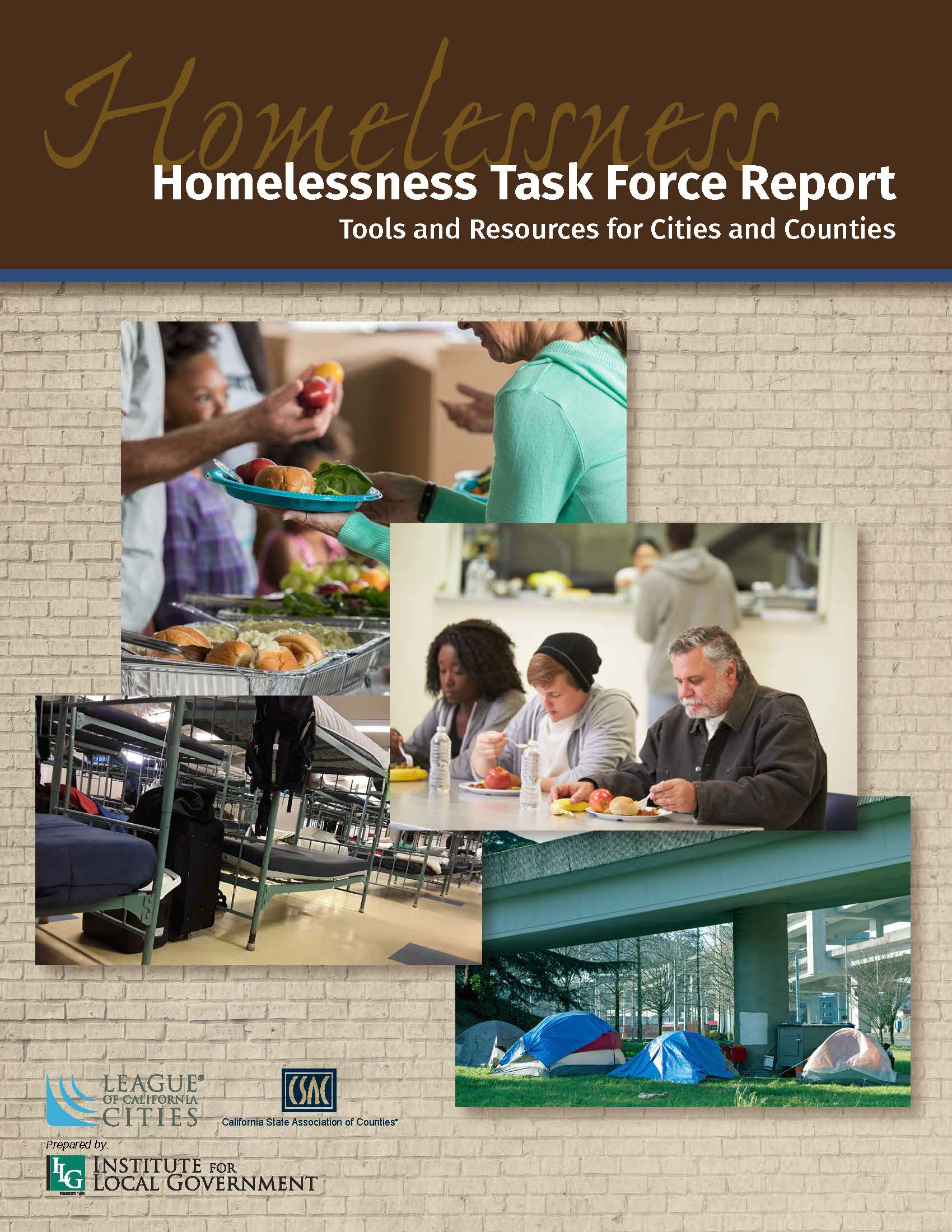 - League of California Cities and California State Association of Counties Joint Homelessness Task Force Report