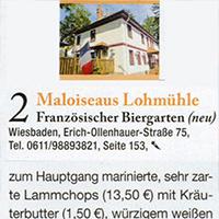 Rhein-Main geht aus    2er Platz