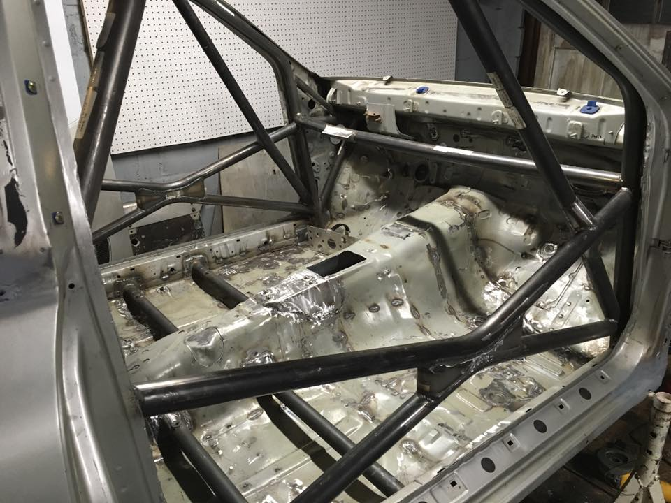 Custom Cages FIA Homologated Rollcage