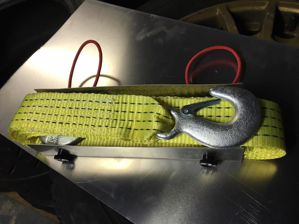 Fabricated Aluminum Tow Rope Holder