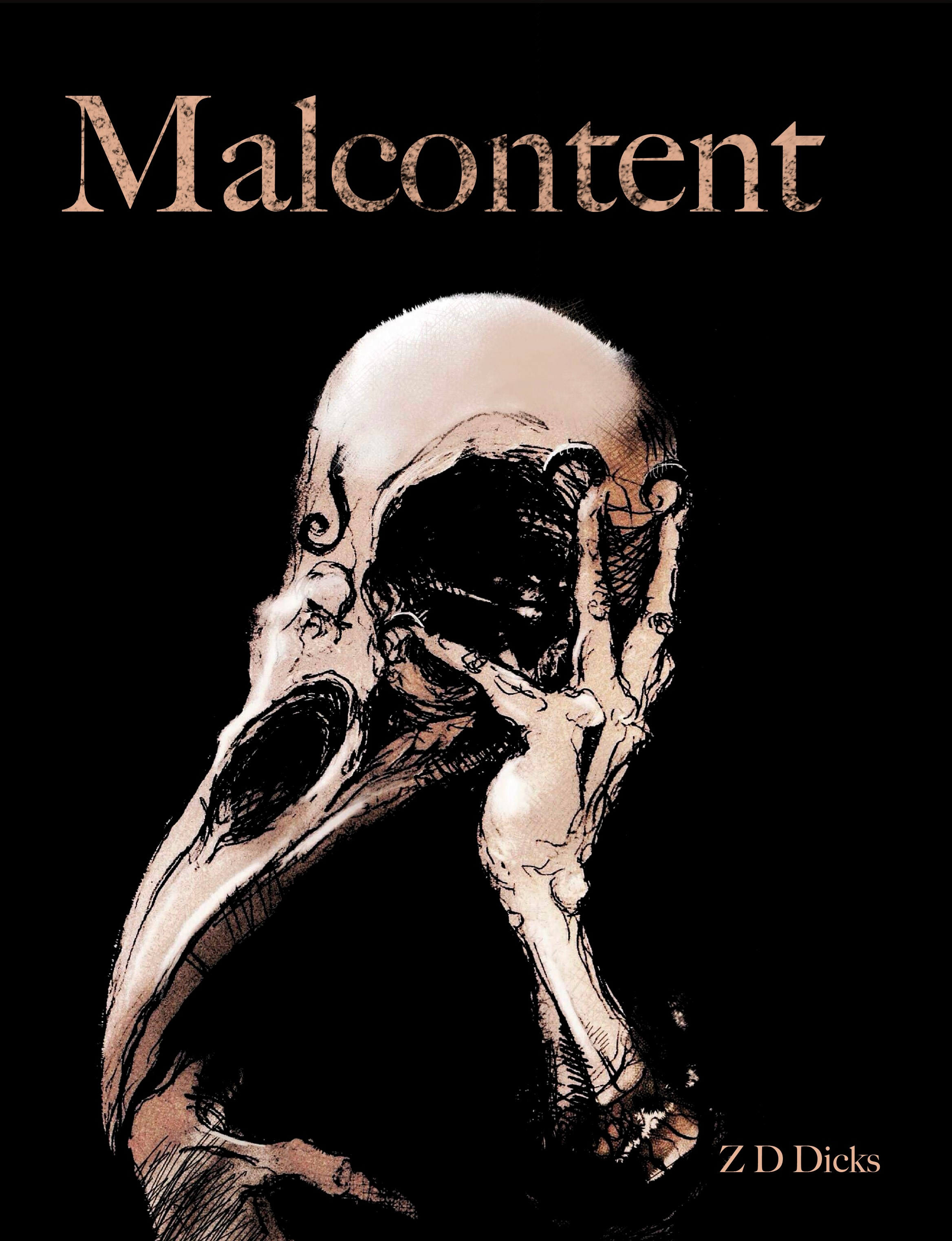 Malcontent - cover