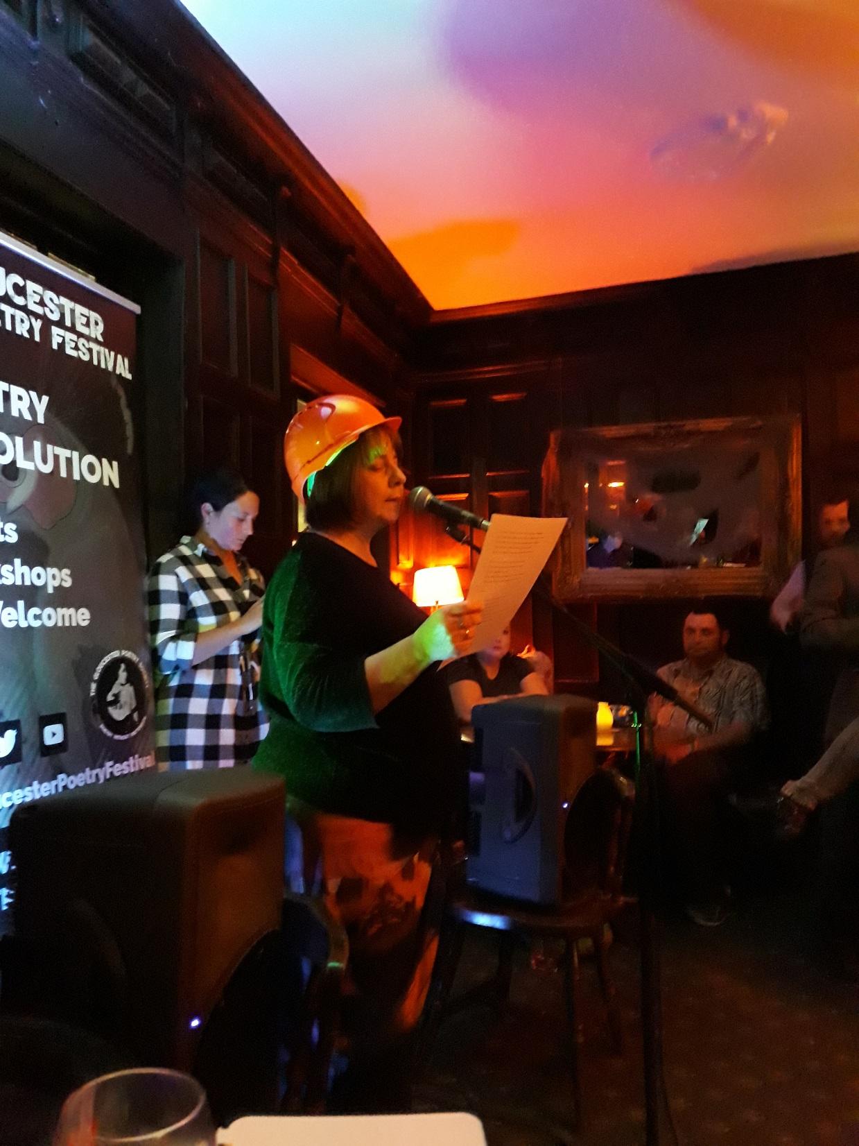 Gloucester Poetry Festival. Gorilla Slam, October 2018