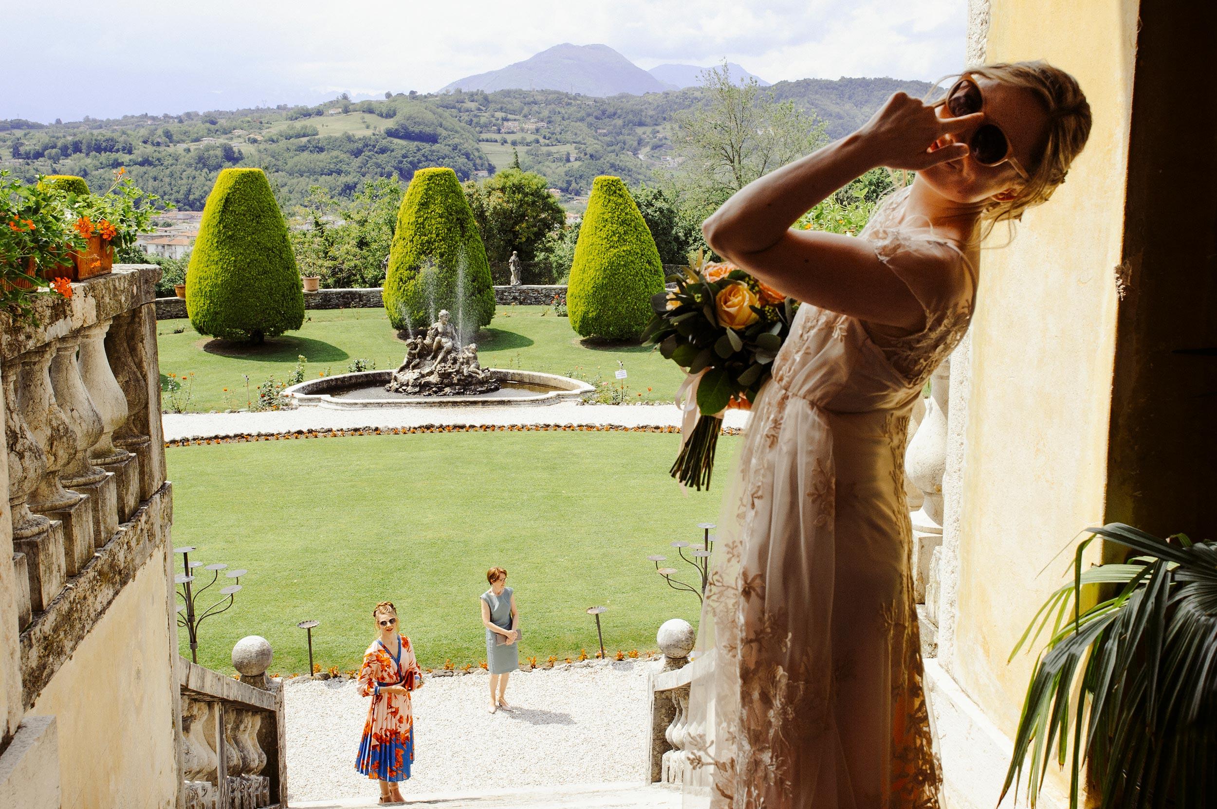 Villa Godi Malinverni chic Italian wedding la dolce vita destination photographer Alessandro Avenali