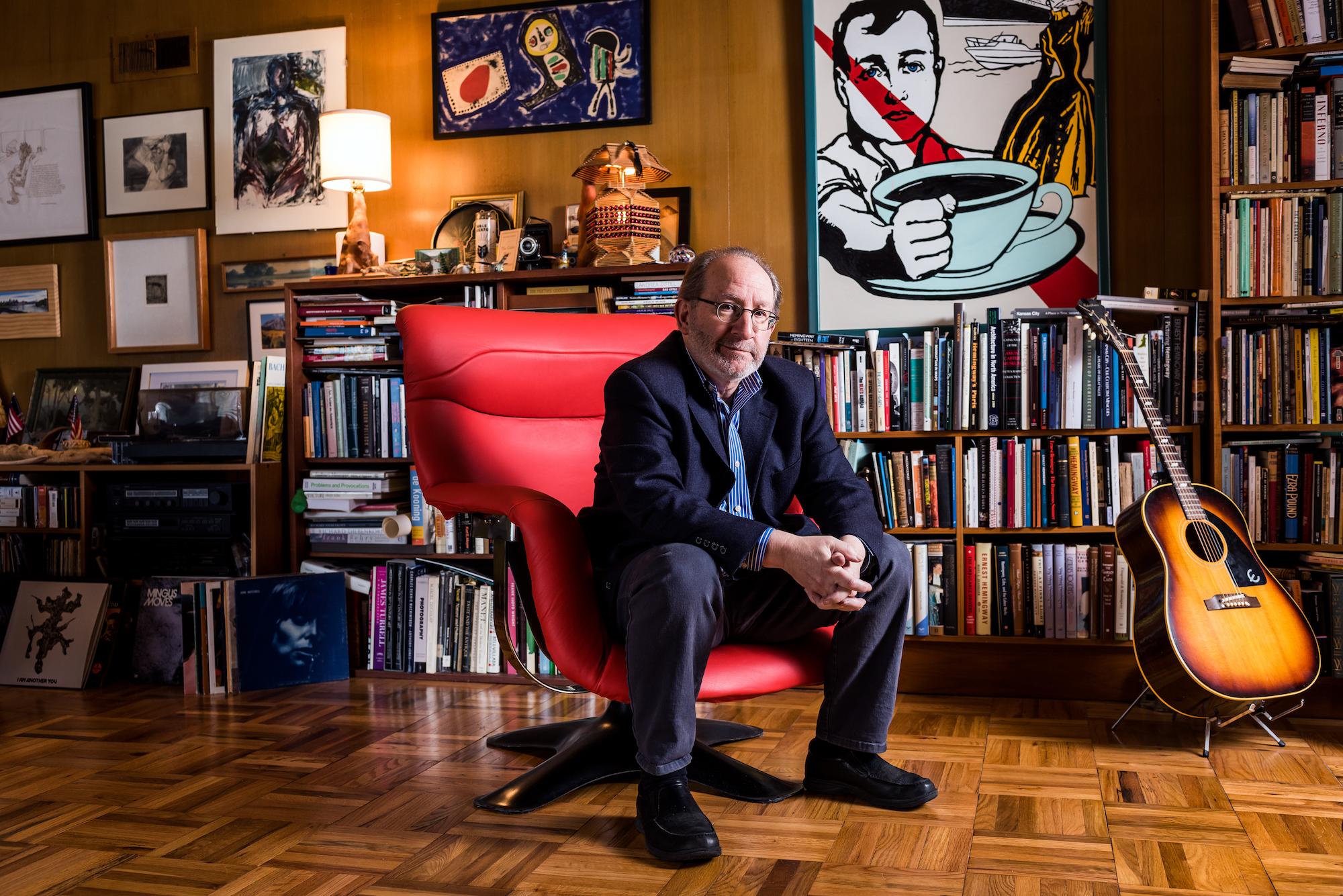 Author Steve Paul  Photo by  Dan Videtich