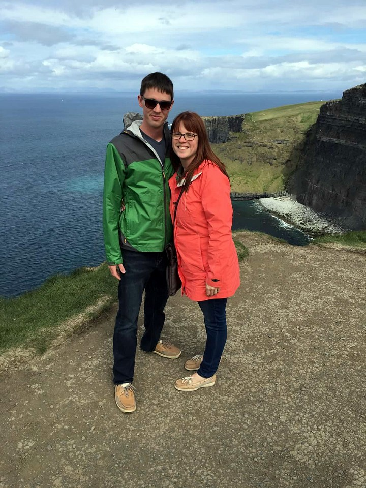 Honeymoon Couple in Ireland
