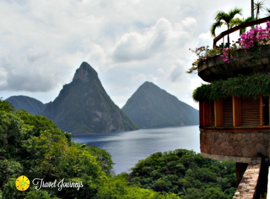 Enjoy the beauty of the Pitons in St. Lucia