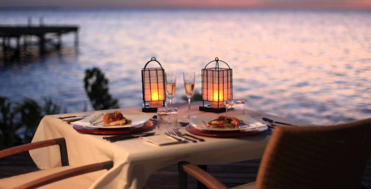 A romantic dinner for two under the stars can be added to just about any package. Imagine being on the beach, on your balcony, deck—anywhere you can imagine…just the two of you!
