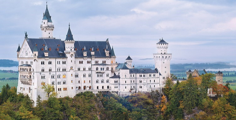 Tours are almost a must to add to any country you may be visiting. Neuschwanstein Castle in Germany was the inspiration for Disneyworld's Cinderella's Castle. Seeing the inside of a castle is so magical! Picture by Bill Ross Photography-Castle Rock, Co