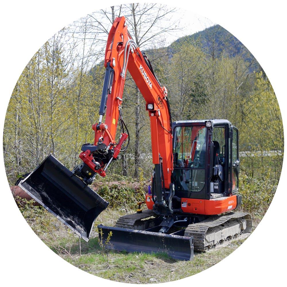 excavating equipment leasing rentals