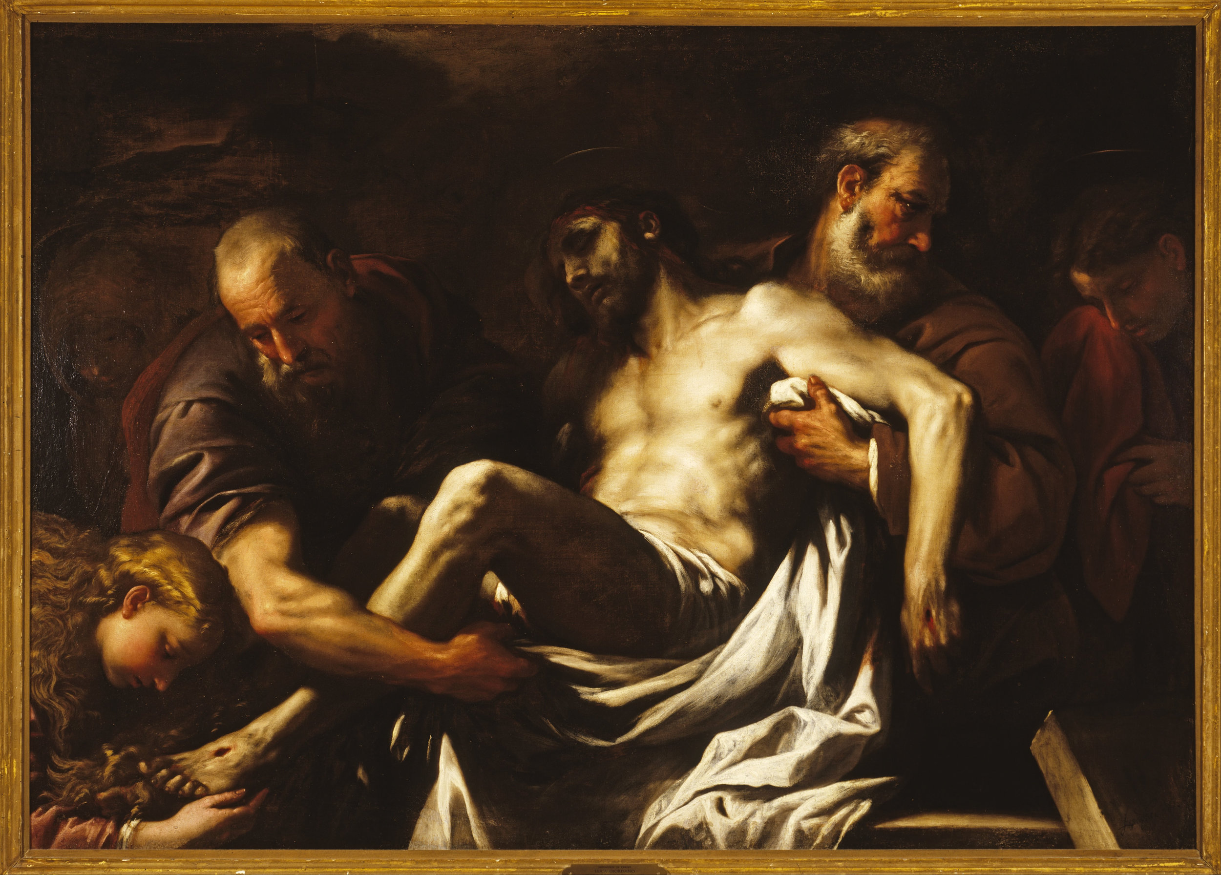 """The Entombment of Christ"" by Luca Giordano."