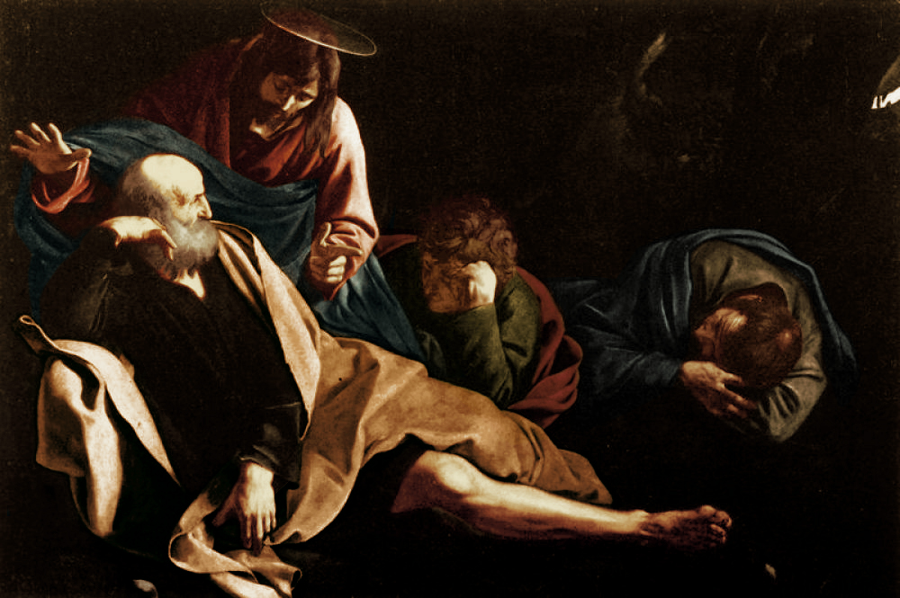 """Christ in the Garden"" by Caravaggio."
