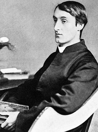 Gerard Manley Hopkins, image from  Wikipedia