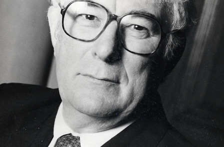Seamus Heaney, image from  Poetry Foundation
