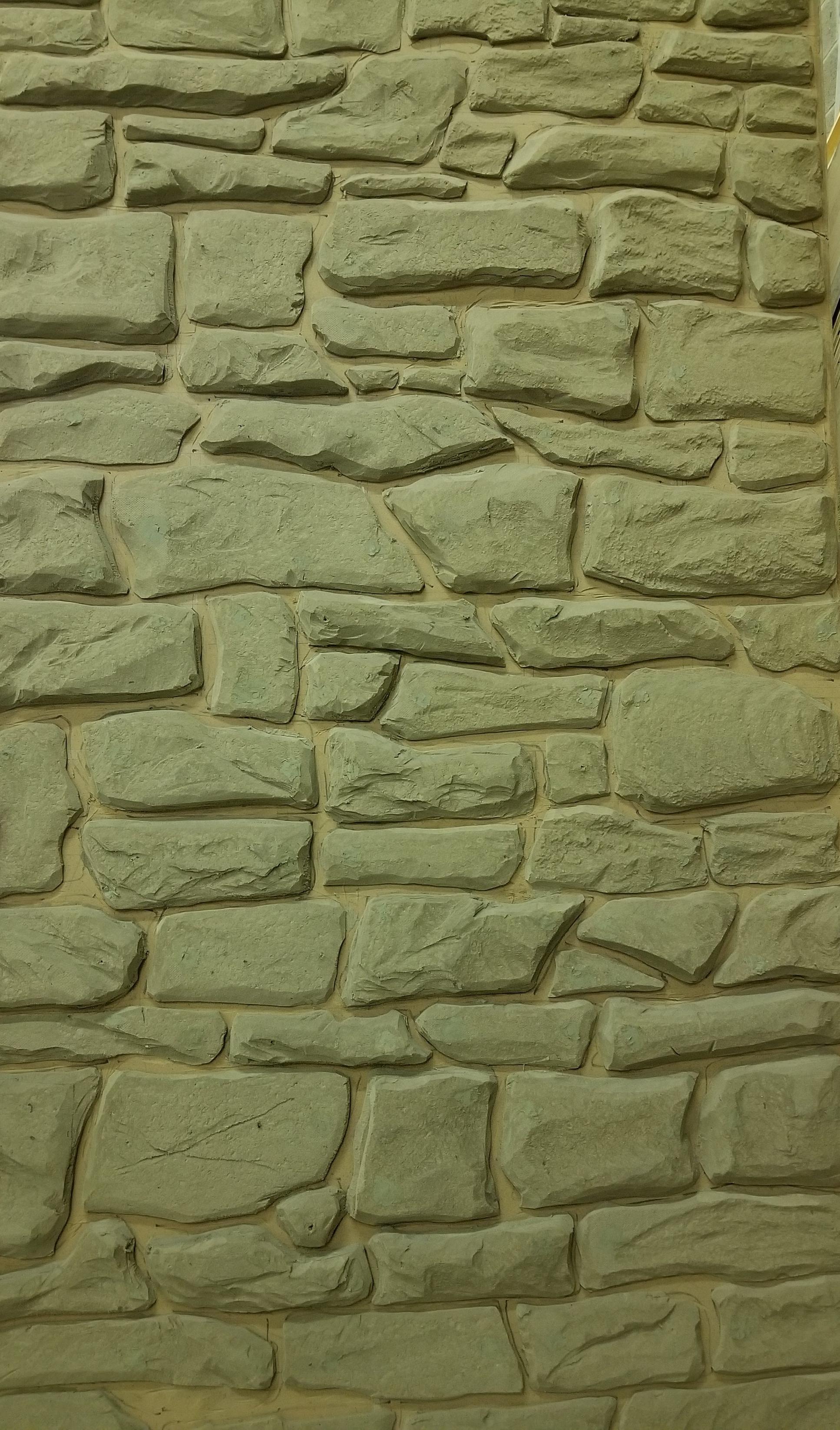 Stone wall mold