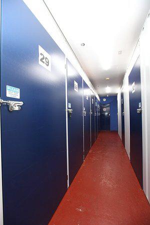 various size self-storage units at umbrella storage
