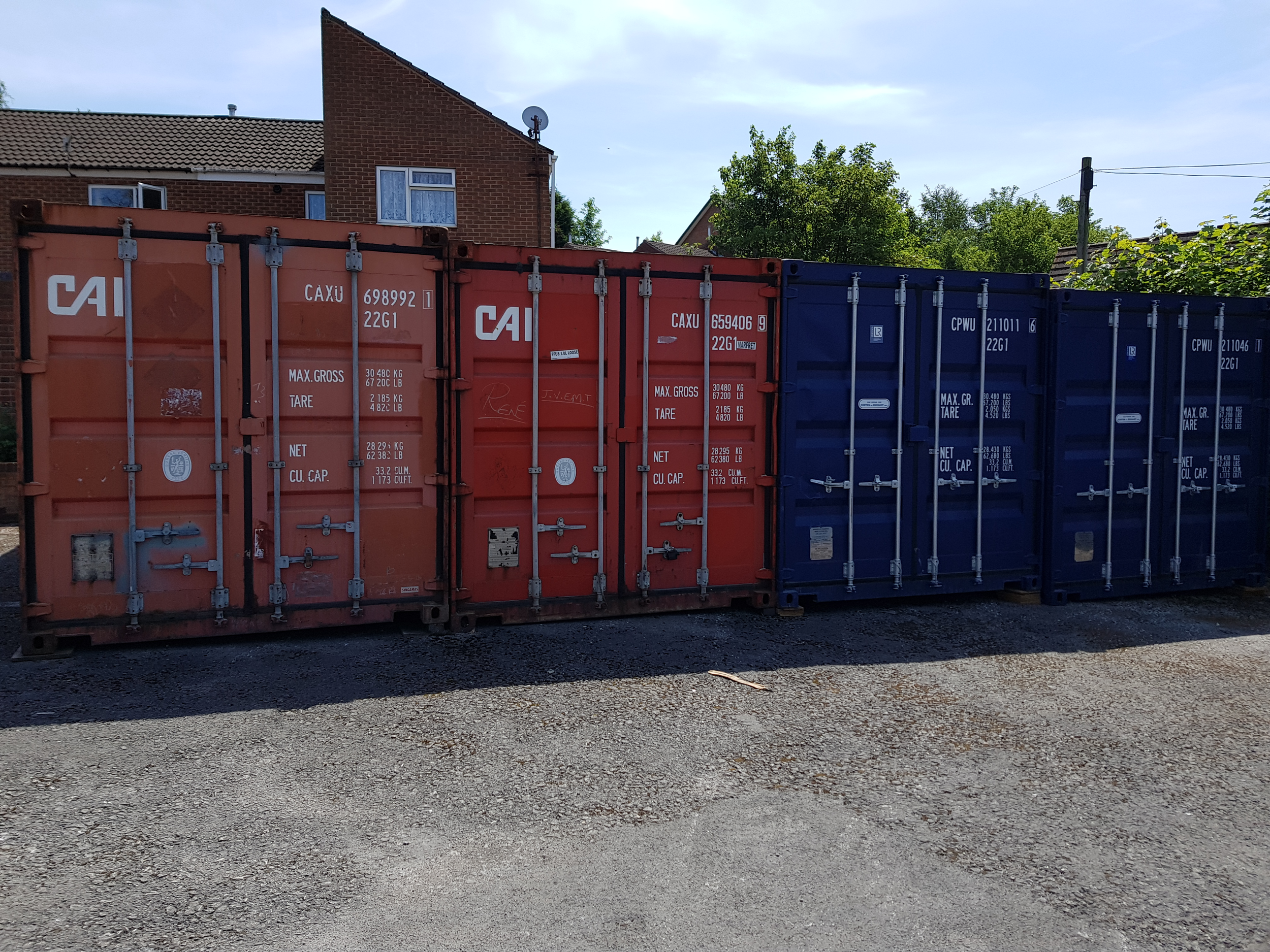 20 SQ FT SELF STORAGE CONTAINERS FOR RENT in Nottingham