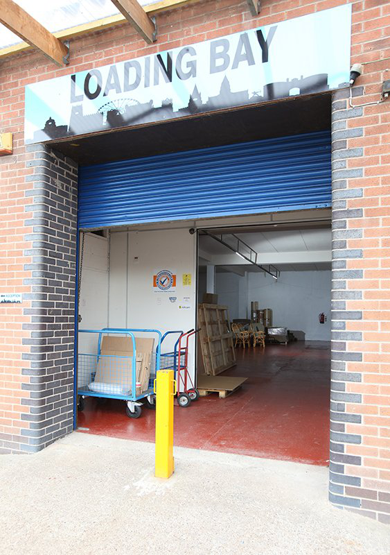 safe and secure ground floor facilities at Umbrella commercial Storage