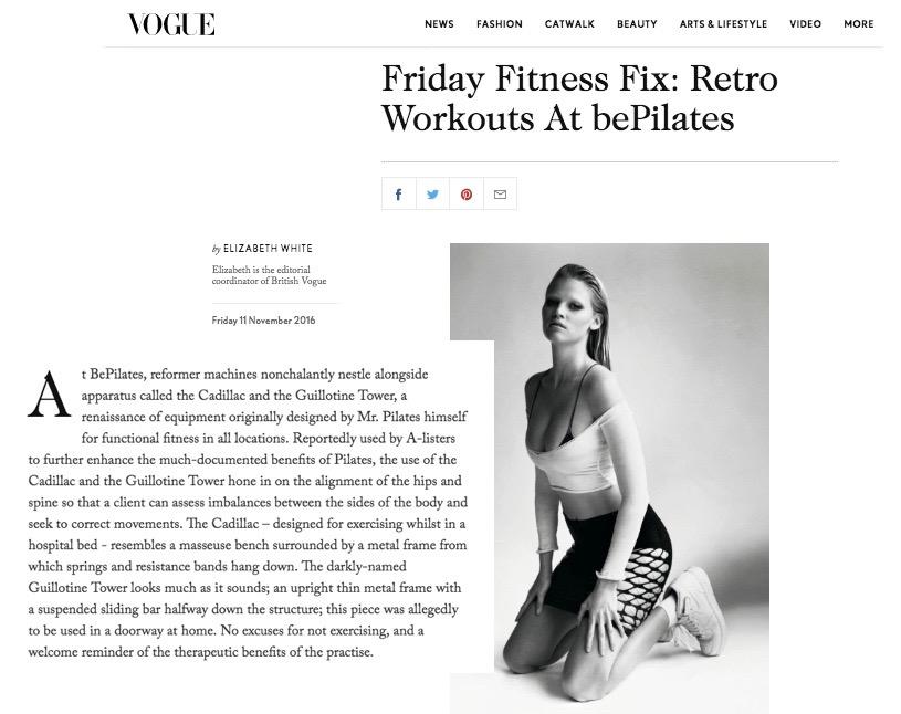 Vogue, November 2016