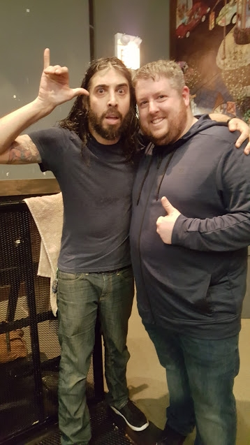 Steve from Every Time I Die and Kevin